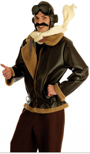 War Time Fighter Pilot Costume